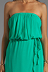 Image 5 of Ella Moss Stella Strapless Maxi in Jade