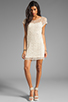 Image 2 of Ella Moss Hailee Crochet Dress in Natural
