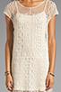 Image 5 of Ella Moss Hailee Crochet Dress in Natural