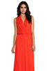 Image 1 of Ella Moss Stella Maxi Dress in Tomato