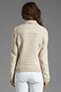 Image 3 of Ella Moss Salinas Stripe Jacket in Linen/Cream