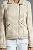 Image 4 of Ella Moss Salinas Stripe Jacket in Linen/Cream