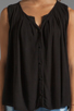 Image 3 of Ella Moss Stella Button Up Blouse in Black
