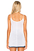 Image 3 of Enza Costa Tunic Layer Tank in White