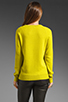 Image 3 of Equipment Sloane Crew Sweater in in Citronelle