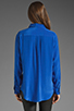 Image 2 of Equipment Signature Blouse in Regal Blue
