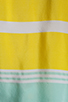 Image 4 of Equipment Venice Stripes Reagan Blouse in Blazing Yellow/Ice Green