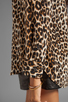 Image 4 of Equipment Underground Leopard Printed Slim Signature Blouse in Natural