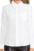 Image 4 of Equipment Brett Vintage Wash Blouse in Bright White