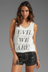 Image 1 of Evil Twin Evil Army Tank in White