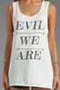 Image 3 of Evil Twin Evil Army Tank in White