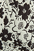 Image 6 of Finders Keepers Fools Gold Dress in Black & White Print/Black