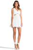Image 2 of Finders Keepers Broken Heart Dress in Ivory/White