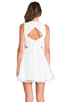 Image 4 of Finders Keepers Broken Heart Dress in Ivory/White