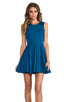 Image 1 of Finders Keepers Back to December Dress in Teal