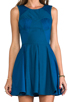 Image 5 of Finders Keepers Back to December Dress in Teal