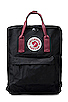 Image 1 of Fjallraven Kanken in Black/Ox Red
