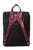 Image 2 of Fjallraven Kanken in Black/Ox Red