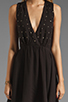 Image 5 of For Love & Lemons Little Lover Dress in Black