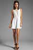 Image 2 of For Love & Lemons Lulu Dress in Ivory
