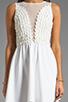 Image 5 of For Love & Lemons Lulu Dress in Ivory