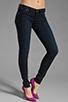 Image 1 of Frankie B. Jeans Edie Stud Pocket Skinny in Ocean