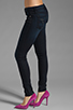 Image 2 of Frankie B. Jeans Edie Stud Pocket Skinny in Ocean