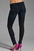 Image 3 of Frankie B. Jeans Edie Stud Pocket Skinny in Ocean