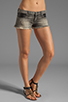 Image 1 of Frankie B. Jeans Trick Short with Pocket Detail in Black