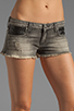 Image 4 of Frankie B. Jeans Trick Short with Pocket Detail in Black