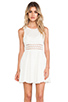 Image 1 of Free People Daisy Waist Dress in Ivory