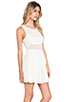 Image 2 of Free People Daisy Waist Dress in Ivory
