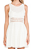 Image 5 of Free People Daisy Waist Dress in Ivory