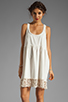 Image 1 of Free People Linen Babydoll Dress in Ivory