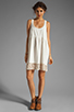 Image 2 of Free People Linen Babydoll Dress in Ivory
