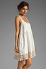 Image 3 of Free People Linen Babydoll Dress in Ivory