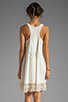 Image 4 of Free People Linen Babydoll Dress in Ivory