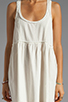 Image 5 of Free People Linen Babydoll Dress in Ivory