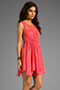 Image 3 of Free People Fiesta Dress in Coral