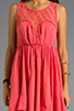 Image 5 of Free People Fiesta Dress in Coral