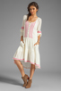 Image 2 of Free People Light Heart Dress in Tea Combo