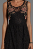 Image 5 of Free People Russian Nesting Doll Dress in Black