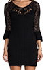 Image 5 of Free People City Girl Body Con Dress in Black