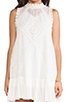 Image 5 of Free People Angel Lace Dress in Ivory