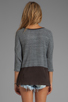 Image 2 of Free People Greatest Hit Sweater in Heather Grey Combo