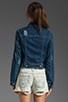 Image 3 of Free People Denim Jacket in True Blue