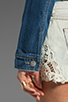 Image 5 of Free People Denim Jacket in True Blue