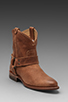 Image 1 of Frye Wyatt Harness Short Boot in Sand