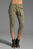 Image 1 of Funktional Slit Pocket Pants in Olive Opacity