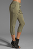 Image 2 of Funktional Slit Pocket Pants in Olive Opacity